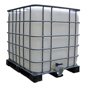 1000l drum of olive oil in crate