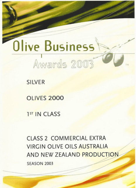 Olive Business silver
