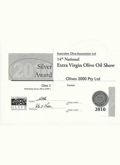 Extra virgin olive show