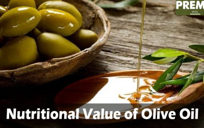 What is the nutritional value of olive oil?