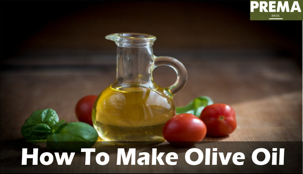 How To Make Olive Oil