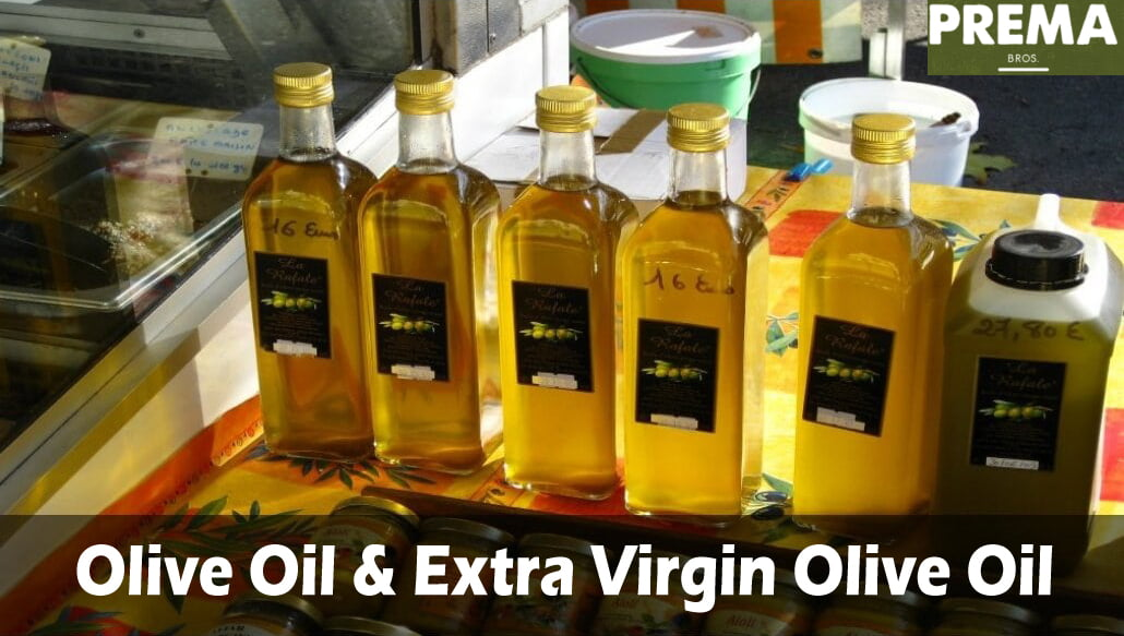 What is the difference between olive oil and extra virgin olive oil?